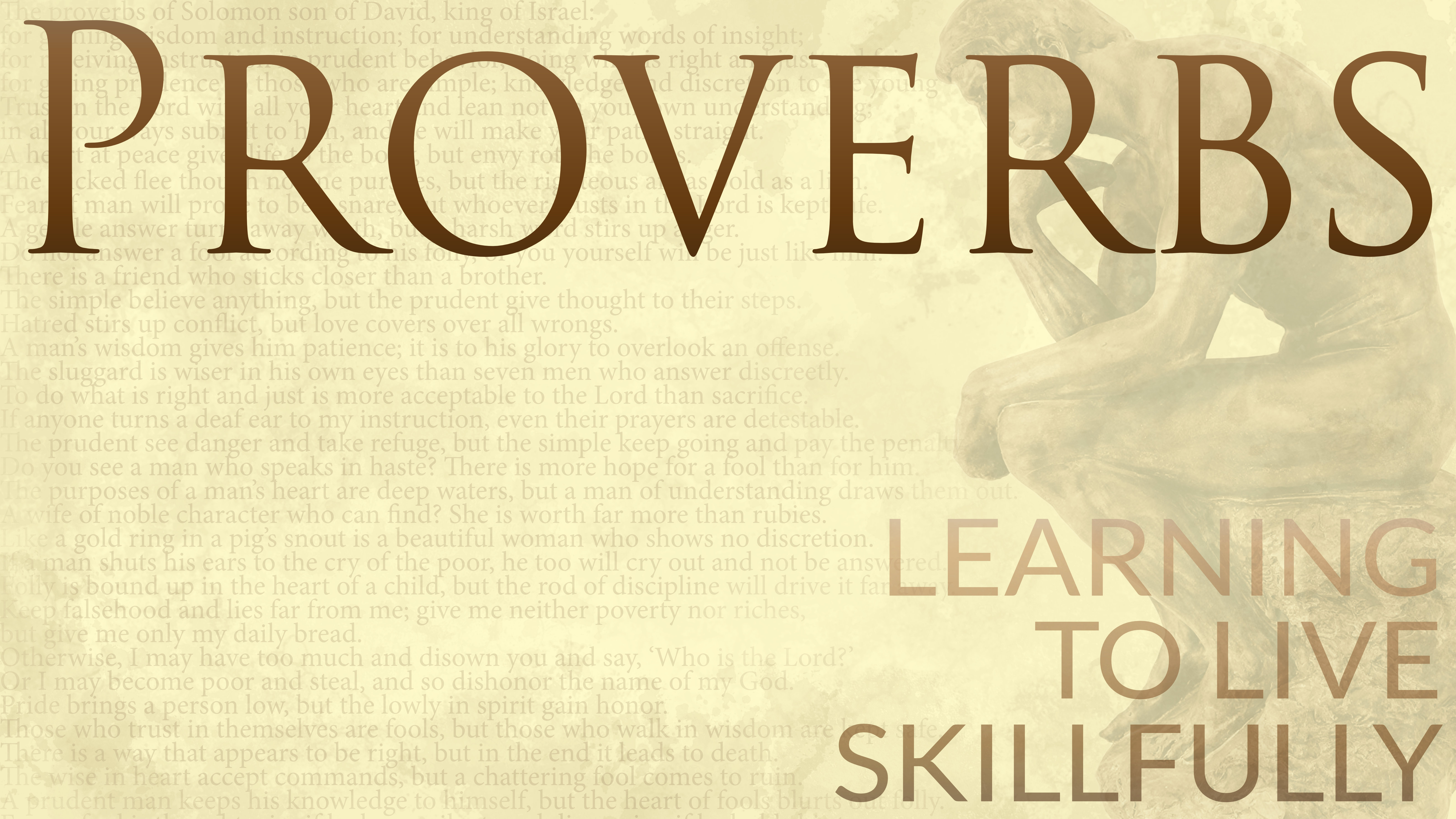 Introduction to Proverbs | Evidence Unseen